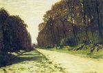 Дорога в лесу Фонтенбло 1864