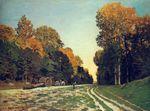 Дорога из Шайи в лесу Фонтенбло 1864