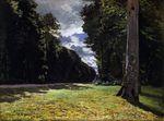 Дорога из Шайи в лесу Фонтенбло 1865