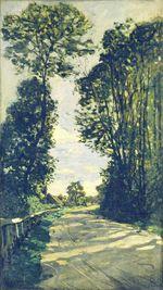 Дорога на ферму Сен-Симон 1864