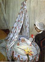 Жан Моне в колыбели. 1867