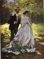 Прогулка. Базиль и Камилла 1865г