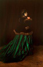 Камилла (Женщина в зелёном платье) 1866