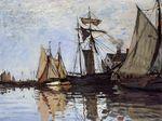Лодки в порту Онфлёра 1866