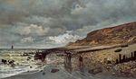 Мыс Хеве, отлив 1865