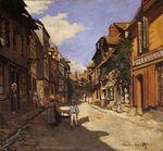 Рю Баволь в Онфлёре 1864