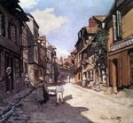 Улица Баволь. Онфлёр 1864
