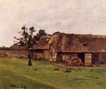 Ферма близ Онфлёра 1864