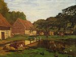Ферма в Нормандии 1861
