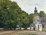 Церковь Нотр-Дам-де-Грас в Онфлёре 1864