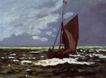 Клод Моне Бурный пейзаж. 1867г