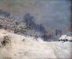 Дорога на ферму Сен-Симон зимой. 1867г