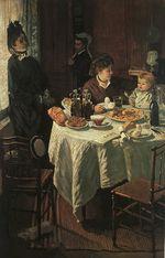 Клод Моне Завтрак. 1868г