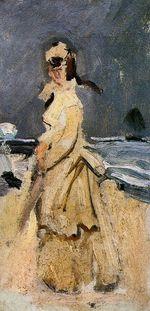 Камилла на побережье. 1871г