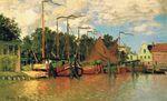 Лодки в Заандаме. 1871г