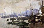 Лодки в Лондонском Пуле. 1871г