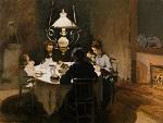 Клод Моне Обед. 1869г