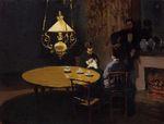Клод Моне После Обеда. 1869г