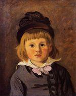 Клод Моне Портрет Жана Моне в шапочке с помпоном. 1869г