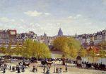 Клод Моне Пристань Лувра Париж 1867г