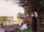 Клод Моне Причал. 1869г