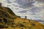 Клод Моне Прогулка по скалам в Сент-Адрес. 1867г