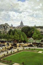 Клод Моне Сад княгини 1867г