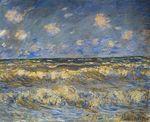 Клод Моне Бурное море 1881г