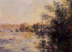 Клод Моне Вечерний эффект на Сене 1881г