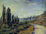 Клод Моне Дорога из Ветёя 1880г