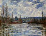 Клод Моне Паводок на Сене в Ветёе 1881г