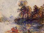 Клод Моне Река 1881г