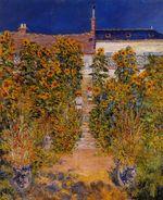 Клод Моне Сад художника в Ветёе 1881г