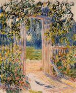 Клод Моне Садовые ворота 1881г
