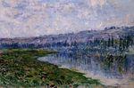 Клод Моне Сена и холмы Шантемеля 1880г