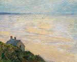 Клод Моне Хижина в Трувиле, отлив 1881г