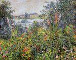 Клод Моне Цветы в Ветёе 1881г