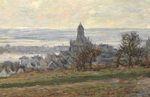 Клод Моне Церковь в Ветёе 1881г