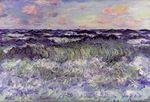 Клод Моне Этюд моря 1881г
